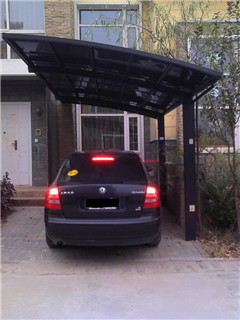 Aluminum Single Carport