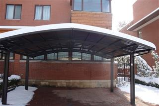 Aluminum Outdoor Garden Carport