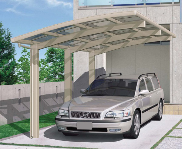 Space Car Port Aluminum