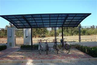 Aluminum Bicycle Carport