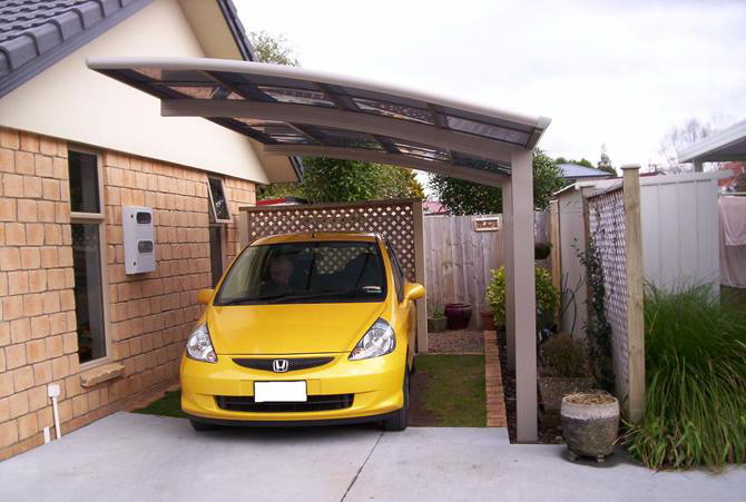 Unusual Portable Carports : Portable aluminum carport garage