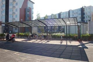 Aluminum Bike Carport